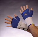 Impacto 701-10 Series Anti-Impact Glove with wrist support Suede Nylon