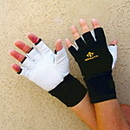 Impacto BG471 Anti-Vibration Air Gloves Vibration Leath Wrist