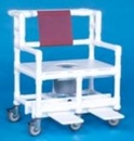IPU Bariatric Shower Commode Chair                  700# Capacity