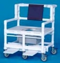 IPU Bariatric Shower Commode Chair                  900# Capacity