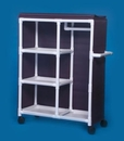 IPU Garment Rack W/Shelves