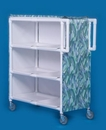 IPU Jumbo Linen Cart - Three Shelves