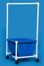 IPU Laundry Hamper W/Clothes Rod