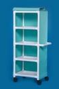 IPU 4 Shelf Cart With Cover - 26