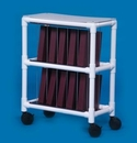 IPU NCR10-S Notebook Chart Rack - Holds 10 Ring Binders