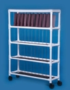 IPU NCR40-L Notebook Chart Rack - Holds 40 Ring Binders