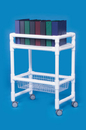 IPU Notebook Chart Rack W/Wire Basket