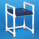 IPU Shower Bench W/Dlx Solid Seat