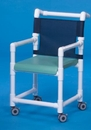 IPU Dlx Shower Chair W/Solid Seat