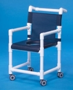 IPU Dlx Shower Chair W/Closed Seat