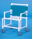 IPU Shower Chair W/Round Seat                              400# Capacity