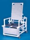 IPU Dlx Oversize Reclining Shower Commode (Navy) 400# Capacity