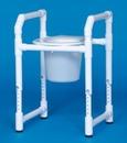 IPU Toilet Safety Frame W/Pail