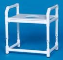 IPU Oversize Toilet Safety Frame W/Pail