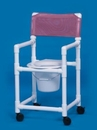 IPU Standard Slant Seat Shower Chair Commode 16