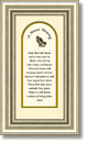 A House Blessing Framed Tabletop Christian Verse