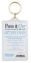 Christian Brands 12369UD Key Chain Pass It On Frame