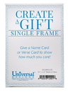 Christian Brands 12401UD Single Names To Remember Frame