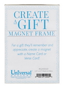 Christian Brands 12405UD Magnetic Names To Remember Frame