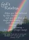 Christian Brands 13748UD Verse Cards God'S Rainbow