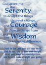 Christian Brands 13750UD Verse Cards Serenity Courage Wisdom