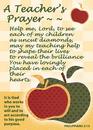 Christian Brands 13852UD Verse Cards Teacher'S Prayer