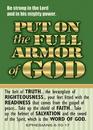 Christian Brands 13868UD Verse Cards Full Armor Of God