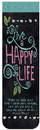 Christian Brands 18062UD Magnetic Bookmarks Live A Happy Life