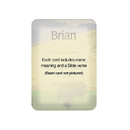 Christian Brands 21579UD Names To Remember - ETHAN (M)