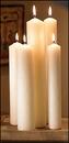 Christian Brands 34212P Altar Brand Spec 2 Plain End Candle