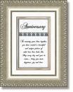 Heartfelt 41524 Anniversary Framed Tabletop General Verse
