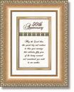 Heartfelt 41541 50Th Anniversary Framed Tabletop Christian Verse