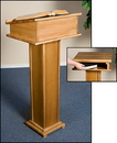 Robert Smith 61706 Lectern With Shelf