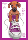 Christian Brands 63358UD Large Poster Wherever You Are Going