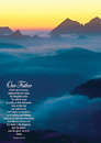 Christian Brands 63382UD Large Poster Our Father