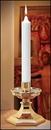 Christian Brands 72612P Polar Short 6 Plain End Candle