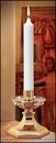 Christian Brands 73612P Polar Short 6 - Plain End Candle