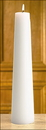 Christian Brands 75351P Plain White Conical Christ Candle