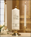 Will & Baumer 75379 Two Shall Become One - Wedding Unity Candle