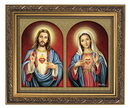 Gerffert 79-1120 The Sacred Hearts Framed Print