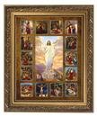 Gerffert 79-1139 Stations Of The Cross Framed Prints