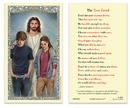 Ambrosiana 800-0035 The Teen Creed Laminated Holy Card