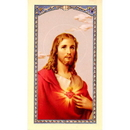 Gerffert 800-061 Sacred Heart - Solem Resolution Holy Card