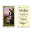 Ambrosiana 800-1006 Christ Overlooking Jerusalem Holy Card