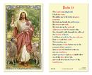 Ambrosiana 800-1011 Christ The Good Shepherd - Psalm 23 Holy Card
