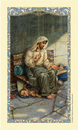 Ambrosiana 800-1019 Christ Homeless - A Prayer For The Homeless Holy Card