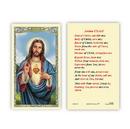 Ambrosiana 800-1025 Sacred Heart Anima Christi Holy Card