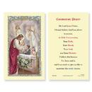 Ambrosiana 800-1061 First Communion Laminated Holy Card