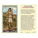 Ambrosiana 800-1083 Christ the Good Shepherd Laminated Holy Card - 25/pk