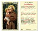 Ambrosiana 800-1202 Saint Anthony Unfailing Prayer Holy Card
